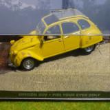 JB3. Macheta Citroen 2CV, scara 1/43, colectia James Bond - Macheta auto