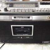 RADIO CASETOFON STEREO SANKEI TCR 1000 V, FUNCTIONEAZA . RARITATE .