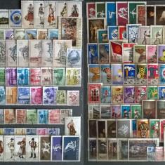 Clasor.Colectie timbre stampilate Romania 1968-2005 1280 buc. GX43, Romania de la 1950
