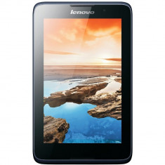 Tableta Second Hand Lenovo A5500-F MTK8382 Quad Core 1.3 GHZ 1GB 16GB 8 inch IPS Wi-Fi BT Android v4.2 JellyBean Blue