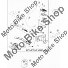 MBS Furtun frana fata KTM 450 EXC 2016 #30, Cod Produs: 59013011000KT - Furtune frana Moto