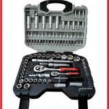 Trusa Scule-Black Tools-Profi-CR/V-Chei/Tubulare/Clichet/E-uri-108PCS