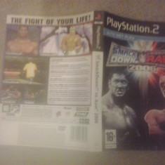 Coperta joc PS2 - WWE Smack Down vs RAW 2006