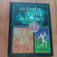 ULTIMILE TAINE ALE LUMII-JEAN BATELLIER, JEAN BOSSY SI ALTII. - Atlas