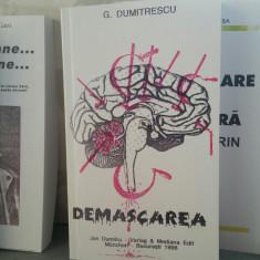 GRIGORE DUMITRESCU DEMASCAREA 1996 DEȚINUT POLITIC MIȘCAREA LEGIONARA PITEȘTI - Istorie