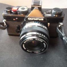Olympus OM-1 + Blitz Metz (sau schimb cu DSLR) - Aparat Foto cu Film Olympus