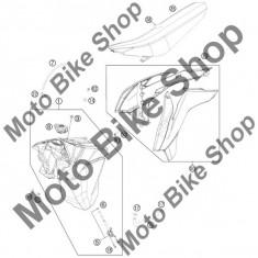 MBS Furtun benzina KTM 300 XC 2016 #15, Cod Produs: 50307016000KT - Furtun benzina Moto