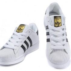 Adidasi ADIDAS Superstar 2 unisex - Adidasi barbati, Marime: 36, 37, 38, 39, 40, 41, 42, 43, 44, Culoare: Alb, Piele sintetica