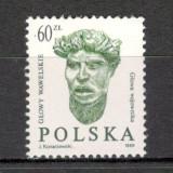 Polonia.1989 Sculptura SP.436 - Timbre straine, Nestampilat