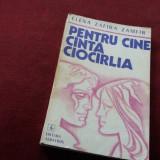 ELENA ZAFIRA ZAMFIR - PENTRU CINE CANTA CIOCARLIA