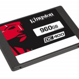 SSD Kingston, 960Gb, DC400, SATA 3.0, 7mm, rata transfer r/w 555mbs/520mbs, dimensiuni: 100.0mm x 69.9mm x 7.0mm