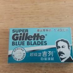 VECHI SET LAME RAS - GILLETTE - BLUE BLADES - PIESA DE COLECTIE