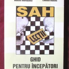 """""""SAH LECTII. Ghid pentru incepatori"""", A. Cioara / H. Stoicescu, 2014"""