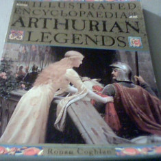 Ronan Coghlan - THE ILLUSTRATED ENCYCLOPAEDIA OF ARTHURIAN LEGENDS { 1995 } - Carte mitologie