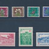 Belgia 1950 50 Euro campania impotriva tuberculozei - serie nestampilata MH
