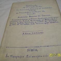 Talcuiala evangheliilor- caractere chirilice an 1860 - Carti bisericesti
