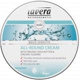 Crema hidratanta multifunctionala cu unt de shea, Basis Sensitiv, 150 ml - Lavera