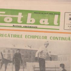 Revista FOTBAL nr. 33/1967 / Rapid Bucuresti