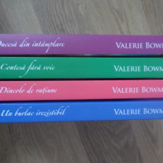 Set 4 Carti Valerie Bowman. Colectia Iubiri De Poveste - Valerie Bowman, 397088 - Roman dragoste