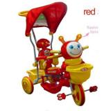 TRICICLETA EUROBABY 2801AC 236AC - ROSU - Tricicleta copii