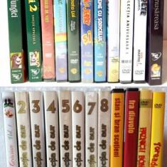 26 DVD de colectie Desene animate, Stan & Bran, Filme celebre - Film animatie disney pictures, Romana