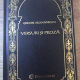 Versuri Si Proza - Grigore Alexandrescu, 397104 - Roman