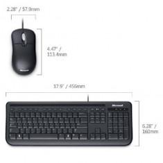 Kit tastatura + mouse Microsoft Wired Desktop 400 for Business