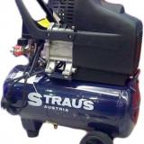 Compresor de aer Straus Austria 1500W – 50 litri - Compresor electric