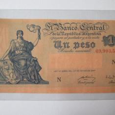 Argentina 1 Peso 1947 - bancnota america