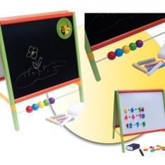 Tabla de scris completa 2 in 1, cu accesorii - multicolora