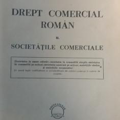 CCMRJ - DREPT COMERCIAL ROMAN - IL GEORGESCU -VOL II- BUCURESTI 1946 - 881 file - Carte Drept comercial