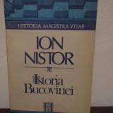ISTORIA BUCOVINEI -ION NISTOR - Istorie
