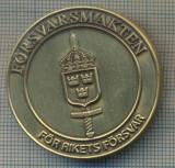 ZET 379 MEDALIE MILITARA -PENTRU APARAREA NATIONALA - SUEDIA, Europa