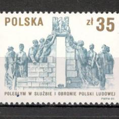 Polonia.1989 45 ani Militia  SP.420