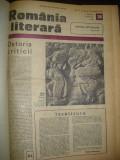 8 numere revista Romania literara - 1973-74, legate in album