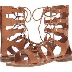 Sandale G by Guess - Sandale dama Guess, Culoare: Maro, Negru, Marime: 37 2/3, 38, Piele sintetica
