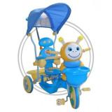 TRICICLETA EUROBABY 2801AC 236AC - ALBASTRU - Tricicleta copii