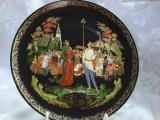 FARFURIE DECORATIVA DIN PORTELAN - BRADEX REALIZATA DUPA BASME RUSESTI