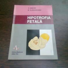 HIPOTROFIA FETALA - V. ANCAR - Carte Obstretica Ginecologie