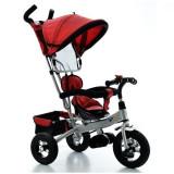 TRICICLETA EUROBABY 906 NEW AIR - ROSU - Tricicleta copii