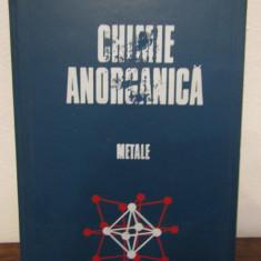 CHIMIE ANORGANICA METALE .GH.MACAROVICI - Carte Chimie