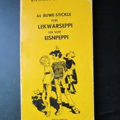 Carte in limba germana: Lekwarseppi und Eisenpeppi, Nikolaus Berwanger - Carte in germana