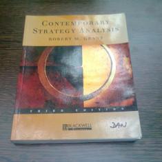 CONTEMPORARY STRATEGY ANALYSIS - ROBERT M. GRANT - Carte Informatica