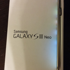 Samsung Galaxy S3 Neo GT-I9301I Perfect functional neverlocked - Telefon Samsung, Alb, Neblocat, Single SIM