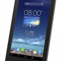 Tableta Second Hand Asus Fonepad 7 Intel Atom Z2560 Dual Core 1.6 GHz 1GB DDR3 8GB 7 inch IPS HD Android Jelly Bean 4.2 Grey