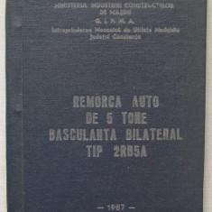 Remorca Auto de 5 Tone Basculanta Bilateral tip 2RB5A - Carti auto