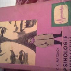 PSIHOLOGIE DISTRACTIVA DE K.K.PLATONOV - Carte Psihologie