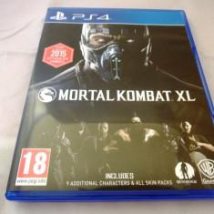 Mortal Kombat XL, PS4, original, alte sute de jocuri! - Jocuri PS4, Shooting, 18+, Single player