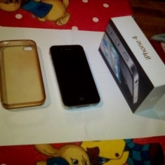 I Phone 4, 16 Gb, stare excelenta, codat pe Vodafone - iPhone 4 Apple, Negru