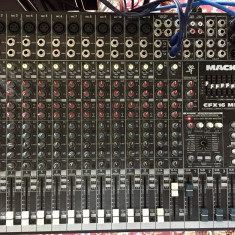 Mixer MACKIE CFX16 (Professional) Made in USA - Mixere DJ